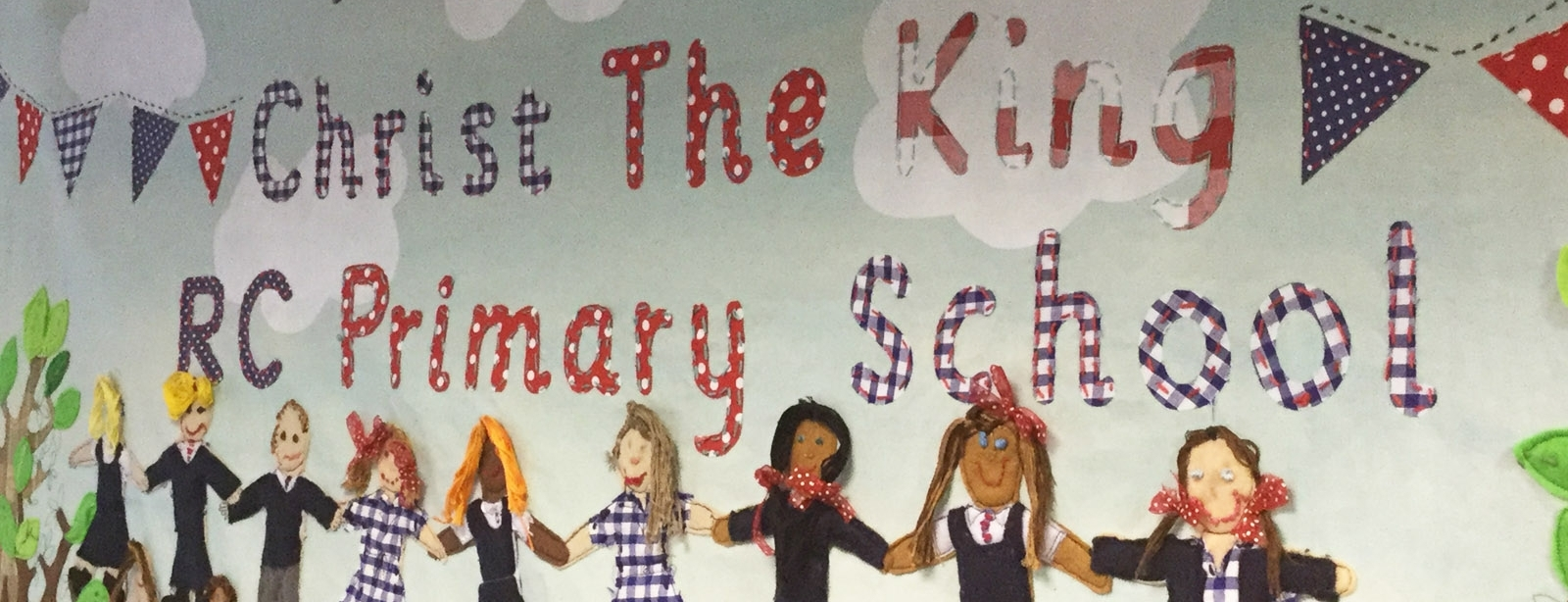 Christ The King RC Primary School wall art